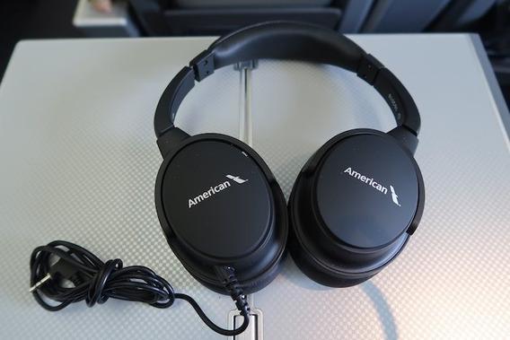 Headphone American Airlines Otimo Grave. Excelente Qualidade