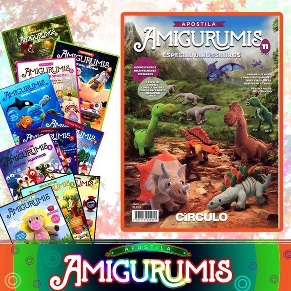 9 Apostilas Amigurumi Revista Do Círculo Receitas