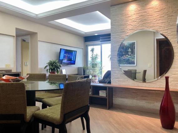 Apartamento Com 3 Dormitórios À Venda, 149 M² Por R$ 845.000,00 - Icaraí - Niterói/rj - Ap0401