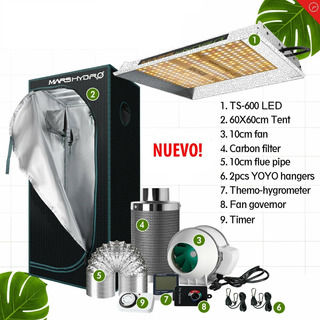 Kit De Cultivo Indoor Armario Completo 60x60x140