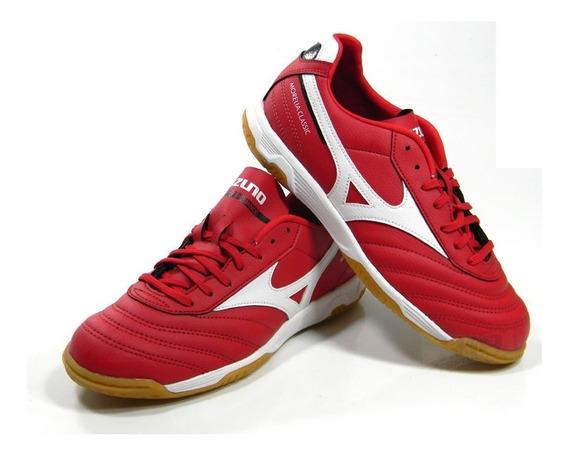 Tenis Mizuno Morelia Classic Futsal Vermelho Tam 38 A 44
