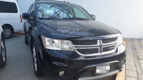 Dodge Journey 2013 R/t 6 Cil 7 Pasageros Piel Eng $ 43,600