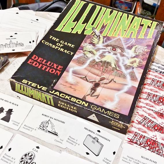 Illuminati Deluxe Edition Original - Jogo De Tabuleiro Carta