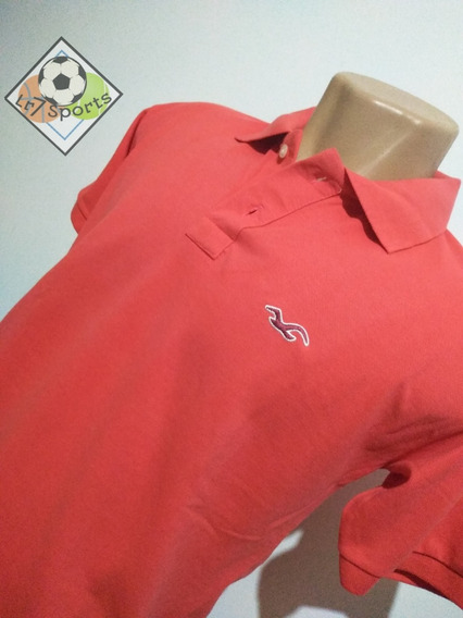 Camiseta Polo Hollister Masculina