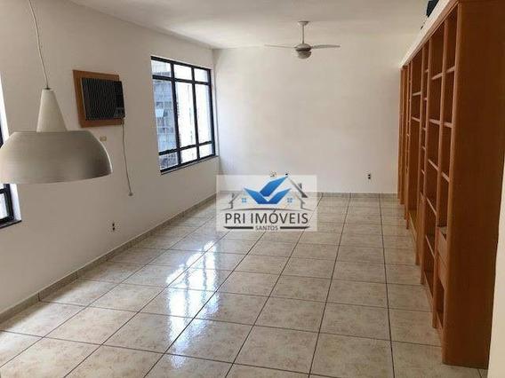 Apartamento À Venda, 147 M² Por R$ 820.000,00 - Pompéia - Santos/sp - Ap0280