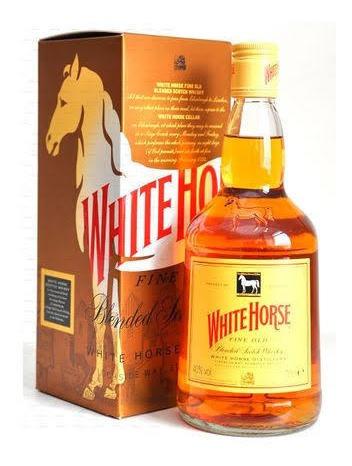 Whisky White Horse Cavalo Branco 1 Litro - Original