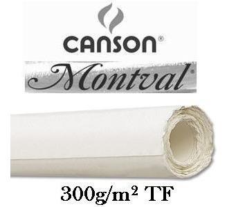 Rolo Papel Aquarela Canson Montval 300g T F 1,52x10mt *frete