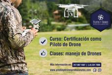 Curso Certificación Piloto De Drones, Avalado Por Aerocivil