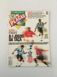 Revista Placar Nº 1207 - 30 Novembro 2001 - Zinho Klebérson