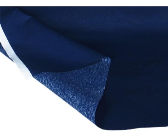 Tecido Impermeável Liso Azul Sofá Decoração