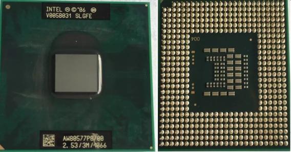 Processador Intel Core 2 Duo 64bs 2.53 3m P8700 Aw80577p8700