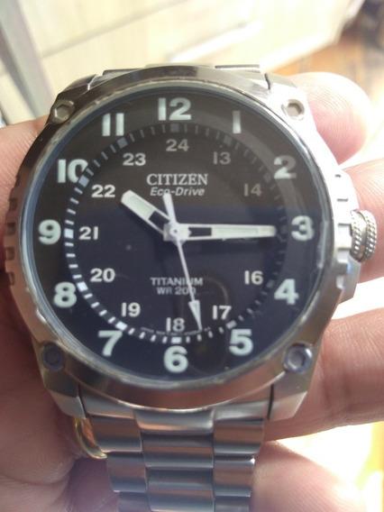 Relógio Citizen Super Titanium 200m.