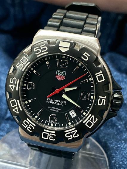 Relógio Tag Heuer Formula 1 Original Safira Wac 1110-1