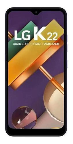 Imagem 1 de 4 de LG K22 32gb Azul Excelente - Celular Usado