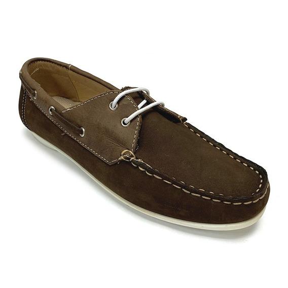 Zapatos Nauticos Full Time Dama Naranja Ft 4415 Corpez 35