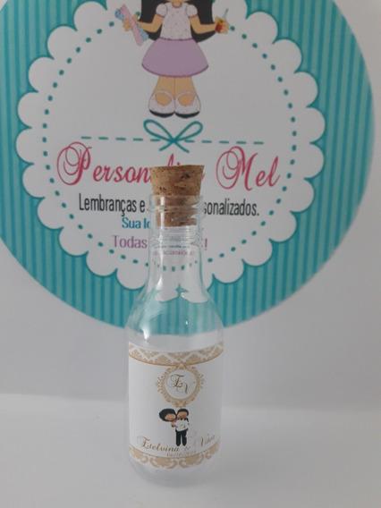 50 Mini Garrafinha 50 Ml Pet Cristal Personalizadas