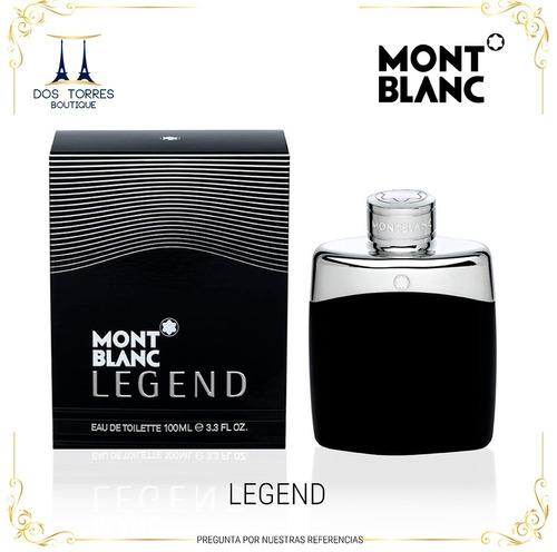 Mont Blanc Legend 100 Ml Dos Torres Boutique.