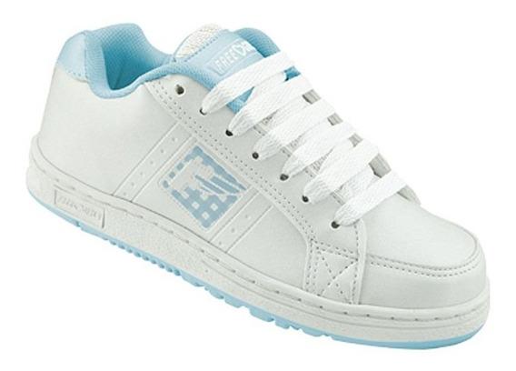 Tenis Freedom Feel - Branco E Azul - K446
