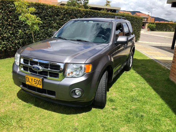 Ford Escape Xlt At 3000cc 4x4 Gris Nocturno 2012