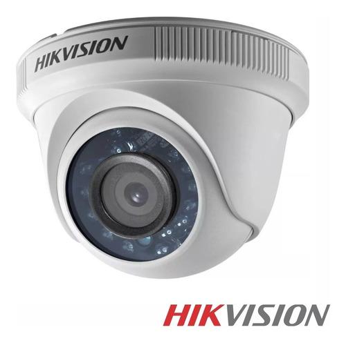 Camara Domo Seguridad Hikvision 2mp Full Hd 1080p Vision Nocturna Cctv Monitoreo Hogar M3k