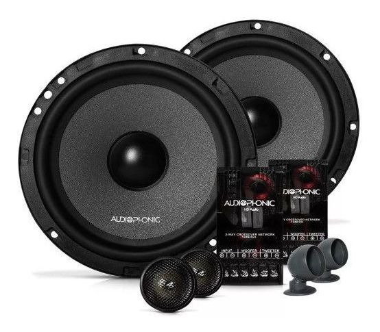 Kit 2 Vias Audio Phonic Kc6.3 6,5 160w Par 6.5 Pol