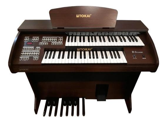 Órgão Tokai D2 Classic Wengue + Brinde Especial