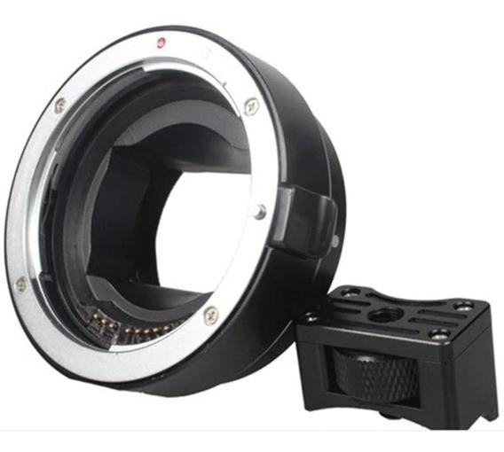 Adaptador Ef Efs Nex Sony E-mount A7 A7s A65 Similar Commlit