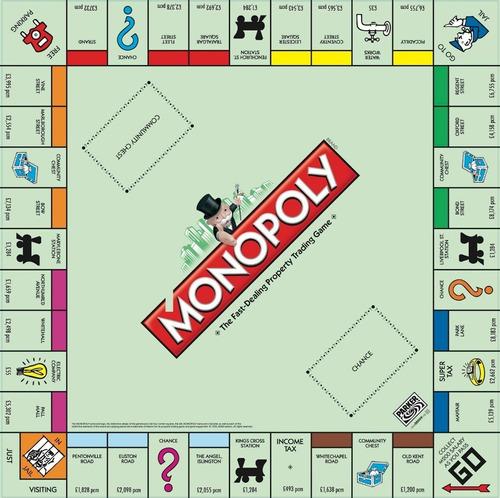 Juegos De Mesa Monopoly Clasico Original Hasbro Tablero Mercado Libre