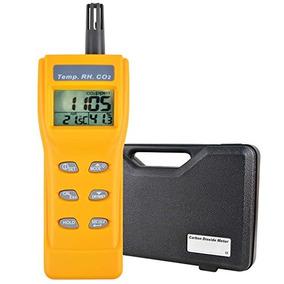 Calidad Aire Interior 9999ppm Digital Dióxido Carbono Humed