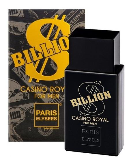 Kit Com 4 Billion Cassino Royal Masc.100ml-original-lacrado