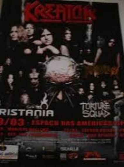Revista Kreator Com Krisiuh Tristania E Torture Squad 2000