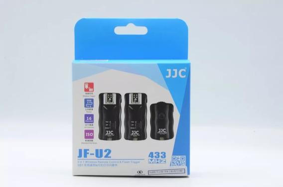 Radio Flash Para Canon Nikon Kit / Kit 1 Trasmissor 2 Recp.