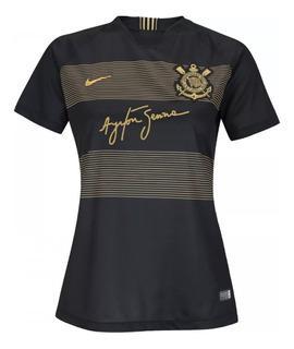 Nova Camisa Nike Oficial Corinthians Feminina
