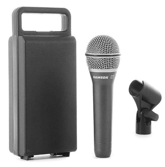Microfone Samson Q 7 Profissional Dinâmico Supercardióideq7