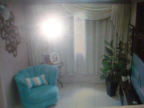 Apartamento Com 2 Dorms, Marapé, Santos - R$ 350 Mil, Cod: 6364 - V6364