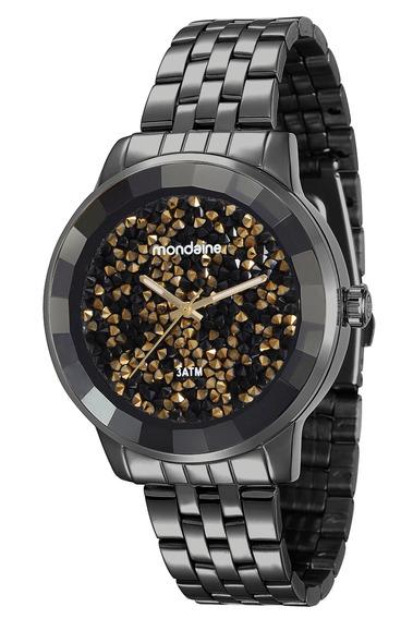 Relógio Mondaine Feminino Original Linha Luxo 94713lpmvpe9