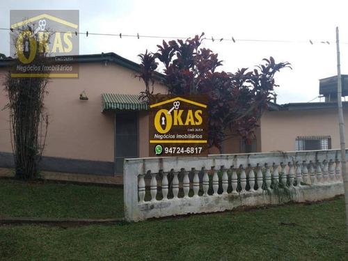 Imagem 1 de 30 de Chácara Com 4 Dormitórios À Venda, 5205 M² Por R$ 1.300.000,00 - Chácaras Ceres - Suzano/sp - Ch0040