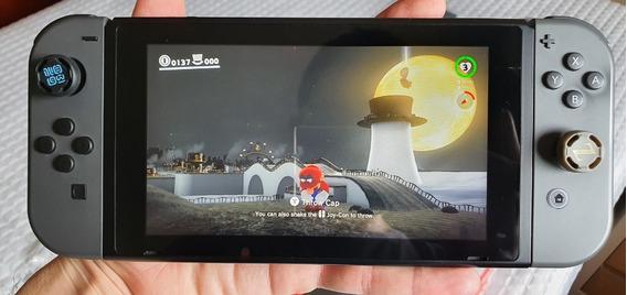 Nintendo Switch 32gb Desbloqueável - Completo + 6 Jogos