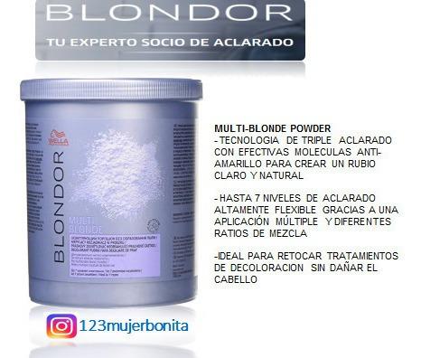 Decolorante Blondor De Wella 800 Grs O 50 Grs Original