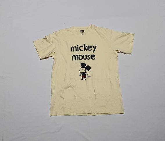 Playera Uniqlo X Disney Jeffrey Brown Mediana Mickey Mouse