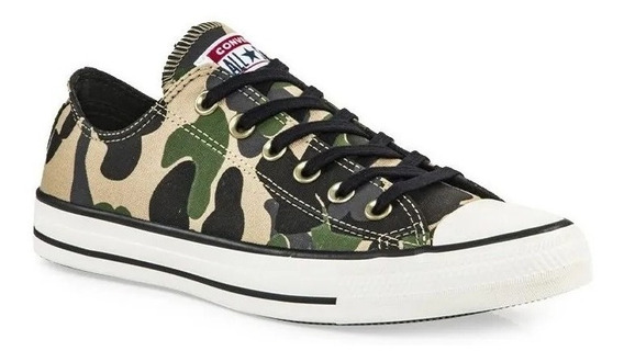 Zapatillas Converse All Star Camuflada - Exclusivas
