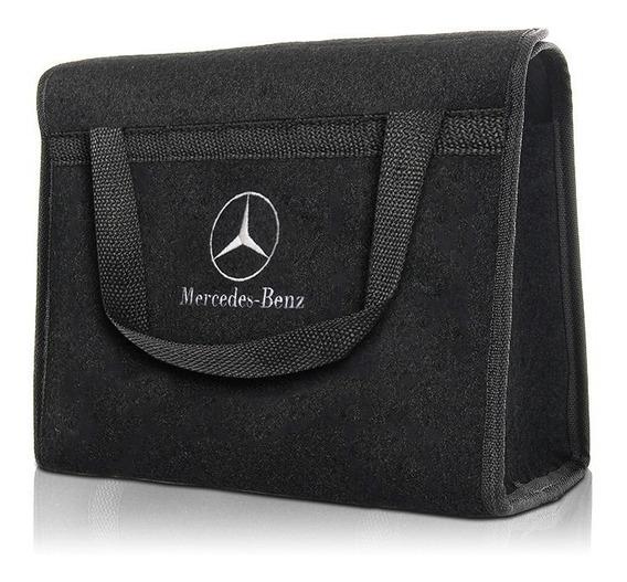 Bolsa Organizadora Porta Malas Bordada - Mercedes Benz
