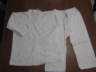 Kimono Branco Tamanho 12
