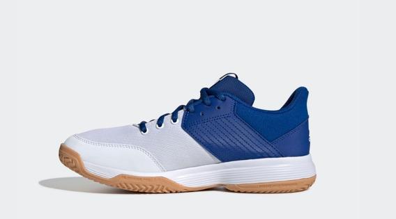 Tênis adidas Ligra 6 Feminino Azul Marinho E Branco