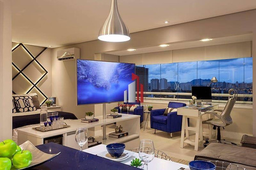 Imagem 1 de 14 de Loft Com 1 Dormitório Para Alugar, 53 M² Por R$ 3.500,50/mês - Barra Funda - São Paulo/sp - Lf0001