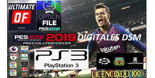 Parche Ps3 Pes18 Superliga 19/20 + Kits 19/20 + Leyen Full