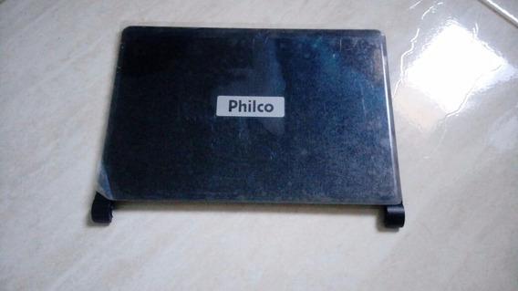 Carcaça Da Tampa E Moldura Netbook Philco Phn 10404