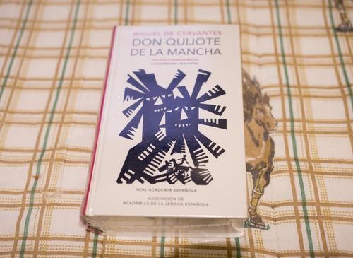 Livro Don Quijote De La Mancha Em Espanhol Novo Lacrado