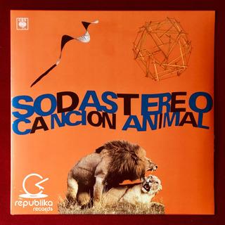 Soda Stereo - Canción Animal - Lp Sellado Edición Argentina