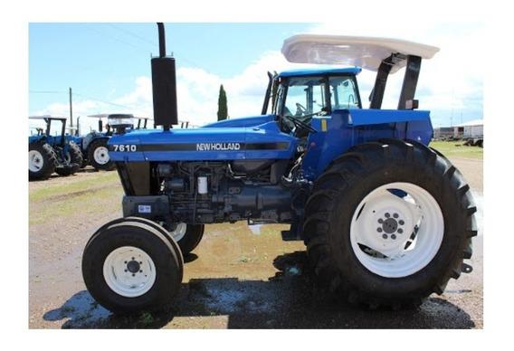 Calcomanías Tractor Agrícola New Holland 7610